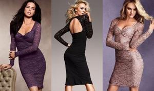 Модные платья из гипюра