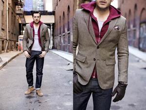 Мужской твидовый пиджак. Готовимся к весеннему сезону