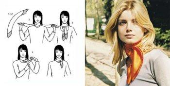 Как можно носить шейные платки