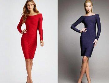Как выбирать и с чем носить бандажные платья