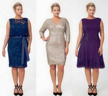 Как подобрать вечернее платье для полных