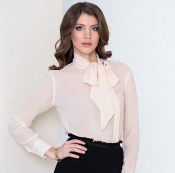 С чем носить прозрачную блузку